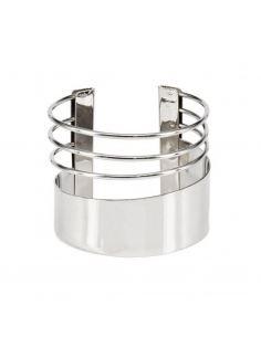 Bracelet Manchette ajouré entrelacé