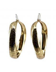 Boucles d'Oreilles pendantes fantaisie nœud