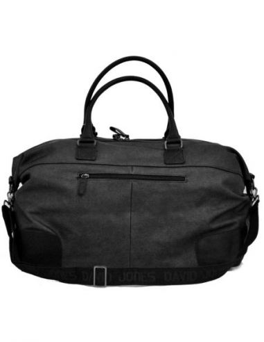 Grand sac shopping David Jones effet Python et anses réglables