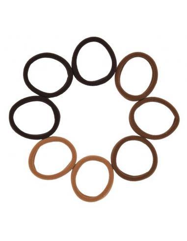 Collier avec anneaux et strass triangles
