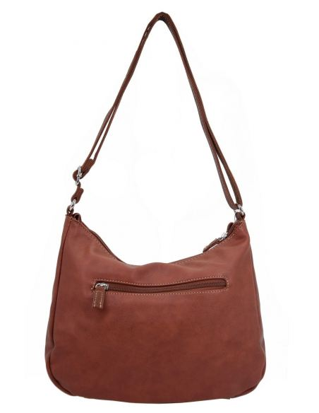 Sac Femme Multipoche Souple Bandoulière Similicuir Zip David Jones rCdtshQ
