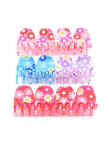 Lot de 12 mini pinces