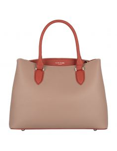 David Jones Sac à Main Elégant Femme Cuir PU Bicolore