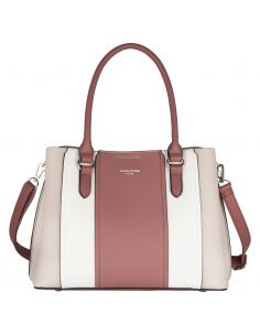 David Jones - Sac à main de ville élégant femme multicolore - Rose