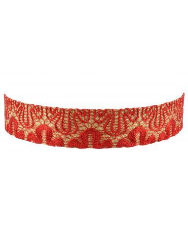 Headband large style dentelle