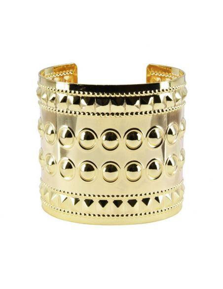 Bracelet manchette clou